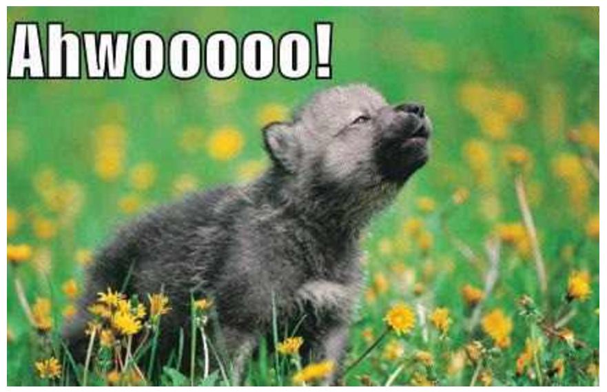 pup-howlin